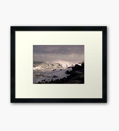 Golden Age Surf Framed Print