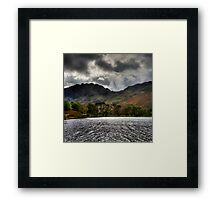 Haystacks and Seat from Buttermere, Cumbria, England Framed Print