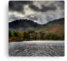 Haystacks and Seat from Buttermere, Cumbria, England Canvas Print