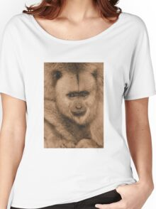 Monkey buisness in sepia Women's Relaxed Fit T-Shirt