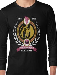 Pink Ranger Academy Long Sleeve T-Shirt