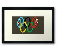 Olympic Portals Framed Print