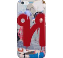 """Thai Characters """"ห"""" iPhone Case/Skin"""