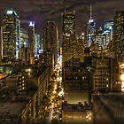 Night Cityscape by Fred Seghetti