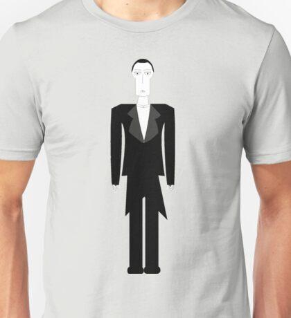 Gothic Butler Character Unisex T-Shirt