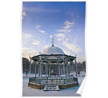 Shrewsbury Bandstand Poster