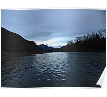 Last Light on the Skagit Poster