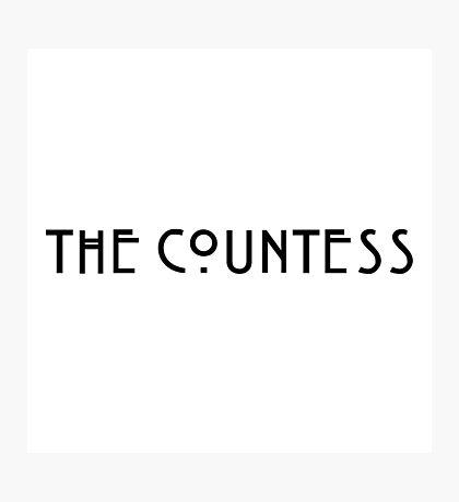 The Countess Photographic Print