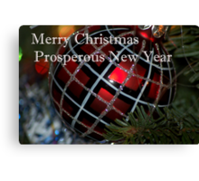 Prosperous New 2011 Year Canvas Print