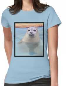 Seal pup Womens Fitted T-Shirt