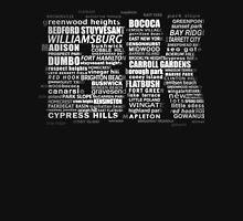 Typographic BK Brooklyn New York T-Shirt