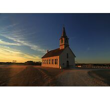 St. Olaf's - The Old Rock Church Photographic Print
