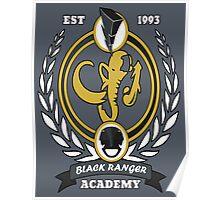Black Ranger Academy Poster