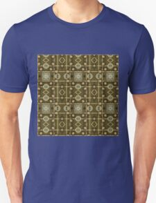 Plaid Painterly Chain Unisex T-Shirt