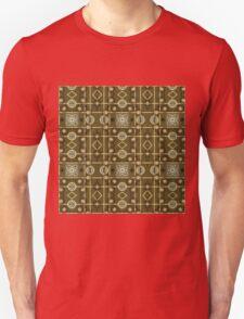 Plaid Painterly Chain Unisex T-Shirt
