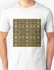 Plaid Painterly Chain T-Shirt