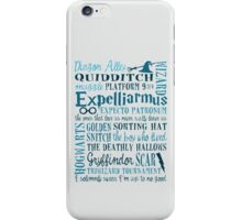 Harry Potter - All Quotes  iPhone Case/Skin