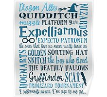 Harry Potter - All Quotes  Poster