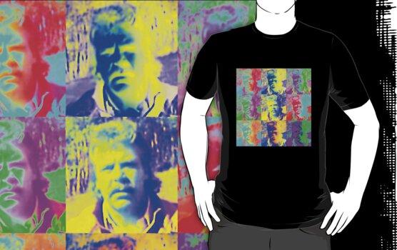 Warhol Rowsdower Tee (for my fellow MST3K fans) by Margaret Bryant