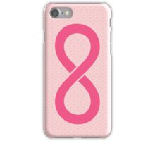 Infinity Pink iPhone Case/Skin