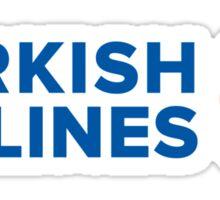 Turkish Airlines Sticker