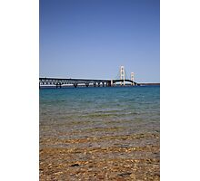Mackinac Bridge Photographic Print
