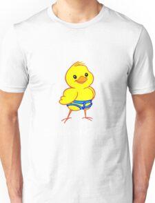 Climbing chick geek funny nerd Unisex T-Shirt