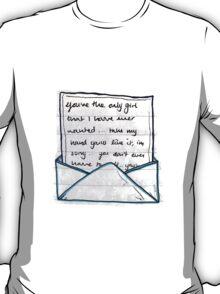 Letter Home - Childish Gambino T-Shirt