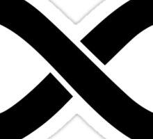 Infinity Black Sticker