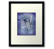 Snow Squall: Framed Print