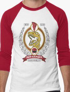 Red Ranger Academy Men's Baseball ¾ T-Shirt