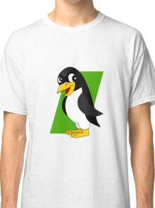 Cute penguin cartoon Classic T-Shirt