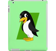 Cute penguin cartoon iPad Case/Skin
