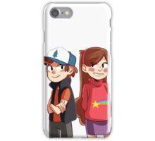 Dipper and Mabel - Gravity Falls iPhone Case/Skin