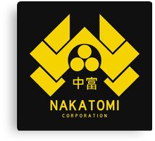 Nakatomi Corporation Canvas Print