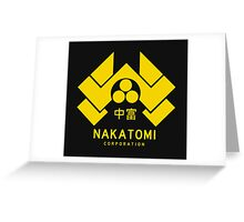 Nakatomi Corporation Greeting Card
