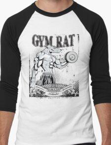 Gym Rat (Male) Men's Baseball ¾ T-Shirt