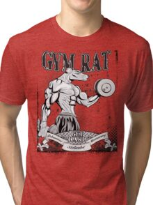 Gym Rat (Male) Tri-blend T-Shirt