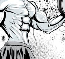 Gym Rat (Male) Sticker