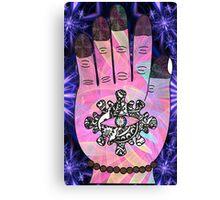 Hand-eye co-ordination Canvas Print