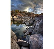 Rocky Pond Photographic Print