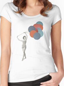 Balloons Women's Fitted Scoop T-Shirt