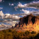 Superstition Mountains-4 by George Lenz