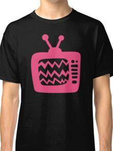 Vintage Pink Cartoon TV Classic T-Shirt