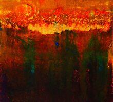 Walking Through Fields Of Gold by Helena Bebirian