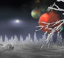 Christmas Moon by Igor Zenin