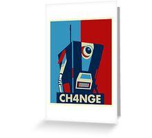 Borderland - Clap Trap Change Greeting Card