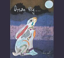 Moon Gazing Hare. Dream Big, worry small. Unisex T-Shirt