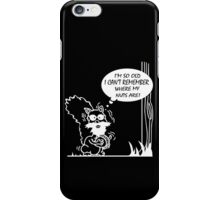 Im so old i cant remember where my nuts are geek funny nerd iPhone Case/Skin