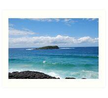Cook Island Art Print